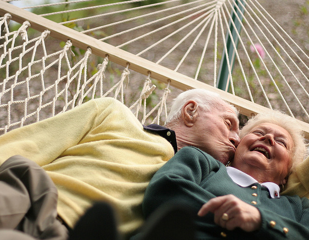 True love at any age…