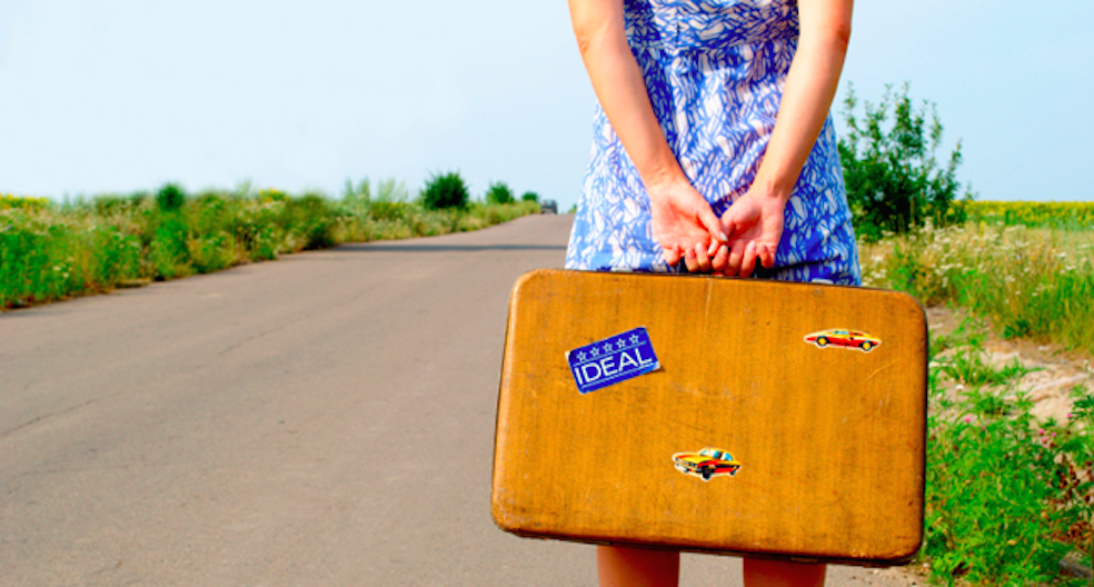 How do you deal with someone else's baggage?