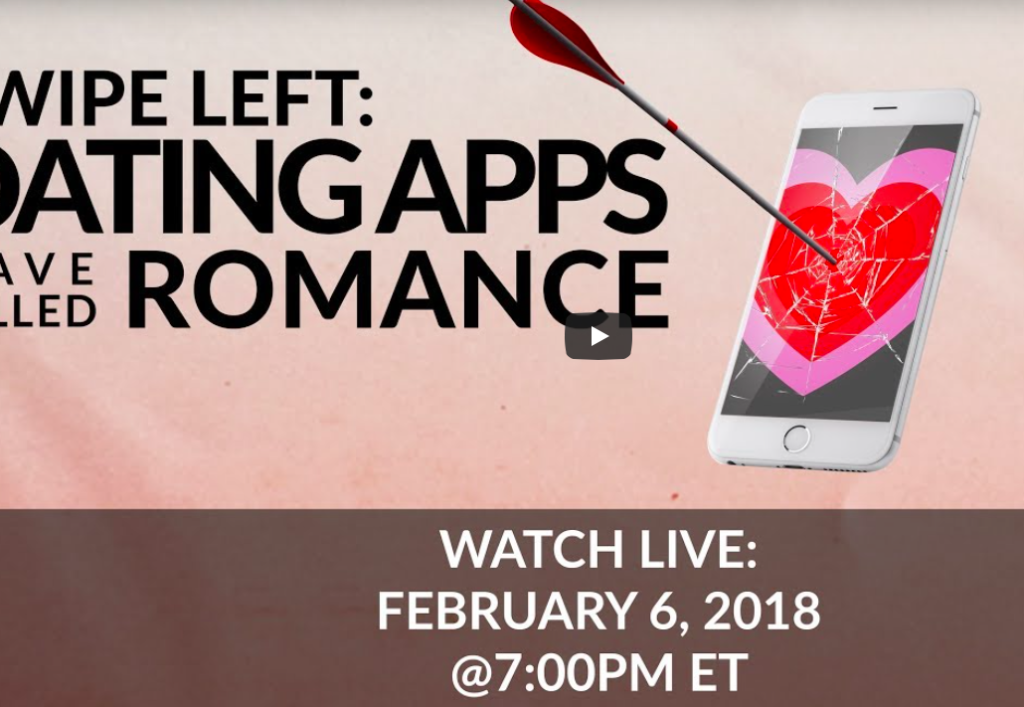 Livestream Tonight – A Debate About Dating Apps with Modern Love Editor!